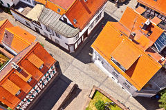 Cityview der alten historischen Stadt von Oberursel, Deutschland Lizenzfreie Stockbilder