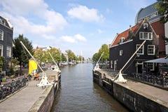 Cityview di Amsterdam nei Paesi Bassi Immagine Stock
