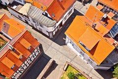 Cityview di vecchia città storica di Oberursel, Germania Immagini Stock Libere da Diritti