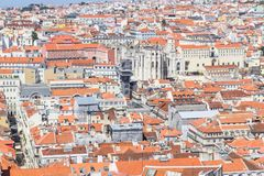 Cityview of Lisboa. City view of Lisboa city, Lisboa, Portugal Stock Photography