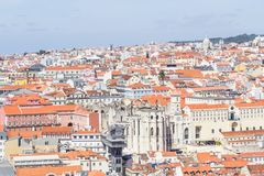 Cityview of Lisboa. City view of Lisboa city, Lisboa, Portugal Royalty Free Stock Photo