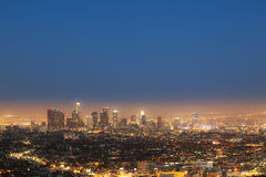 Cityview of Los Angeles Stock Photos