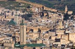 Cityview marroquino Fotografia de Stock