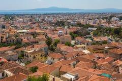 Cityview Nafplio, Grecja Zdjęcia Stock