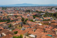 Cityview Nafplio, Greece. Nafplio town the first capital of Greece stock photos