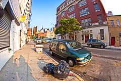 Cityview of New York from Royalty Free Stock Photography