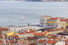 Cityview od Lisbon Fotografia Royalty Free