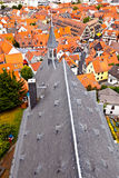 Cityview of old historic town of Oberursel Stock Photography