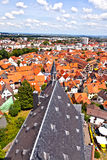 Cityview of old historic town of Oberursel Stock Photos