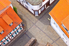 Cityview of old historic town of Oberursel Royalty Free Stock Image