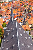 Cityview of old historic town of Oberursel Royalty Free Stock Photos
