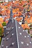 Cityview stary historyczny miasteczko Oberursel Zdjęcia Royalty Free