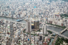 Cityview of Tokyo, Japan Royalty Free Stock Photos