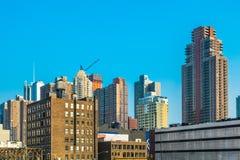 Cityview van New York van eastside Royalty-vrije Stock Foto