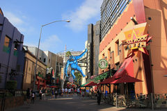 CityWalk universal Hollywood Imagem de Stock