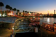 The Citywalk at Universal Studio. Orlando Royalty Free Stock Image