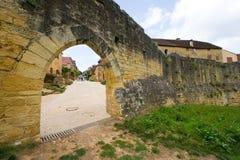 Citywall van Domme Royalty-vrije Stock Foto