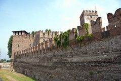 Citywall Verona, Italy Royalty Free Stock Photography