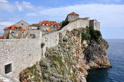 Citywalls di Dubrovnik, Croatia Fotografie Stock Libere da Diritti