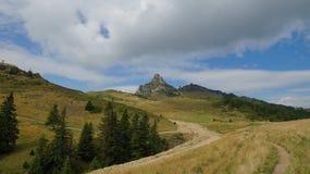 Ciucas山在罗马尼亚34 免版税库存图片