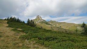 Ciucas山在罗马尼亚32 库存照片
