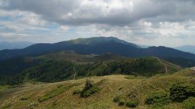Ciucas berg i Rumänien 11 Arkivbild