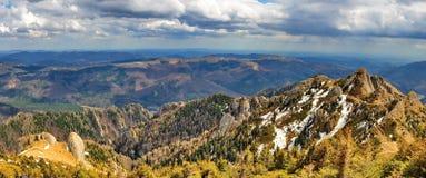 Ciucas góry w Romania fotografia royalty free