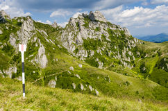 Ciucas mountain landscape in Romania Stock Photo