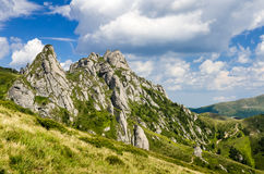Ciucas mountain landscape in Romania Royalty Free Stock Photography