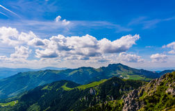 Ciucas Mountain. Landscape with Ciucas mountain in Romanian Carpathians Stock Image