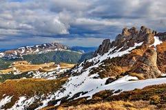 Mountain Landscape in Romania Royalty Free Stock Photos