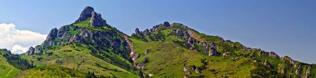 Ciucas peak panorama Royalty Free Stock Photos