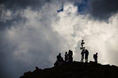 ciucas peak Stock Photo
