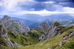Ciucas. Tigaile mari massif in the ciucas mountains, romania Royalty Free Stock Photo