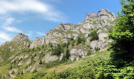 Ciucasbergen in Roemenië Stock Fotografie
