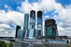 Ciudad 2 de Moscú Fotografía de archivo libre de regalías