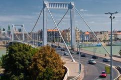 Ciudad 2011 del verano de Budapest, lugar característico foto de archivo libre de regalías