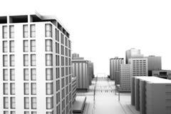 ciudad 3d libre illustration