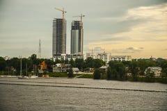 Ciudad Fotografía de archivo libre de regalías