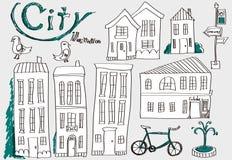 Ciudad Imagen de archivo