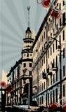 Ciudad Foto de archivo