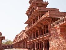 Ciudad abandonada de Fatehpur Sikri, Rajasthán Fotos de archivo libres de regalías