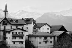 Ciudad agujereada Fotos de archivo libres de regalías