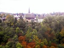 Ciudad alemana foto de archivo libre de regalías