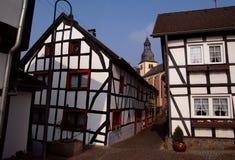 Ciudad alemana vieja foto de archivo libre de regalías