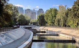 Ciudad Almaty Fotografía de archivo libre de regalías