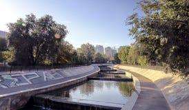 Ciudad Almaty Imagen de archivo libre de regalías