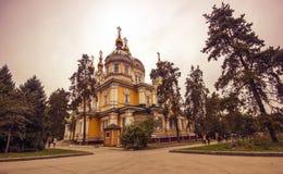 Ciudad Almaty Fotos de archivo