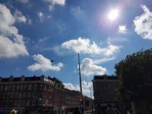 Ciudad Amsterdam Foto de archivo libre de regalías