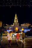 Ciudad Amurallada. Entrance to Ciudad Amurallada, in Cartagena, Colombia. December 2014 Royalty Free Stock Image